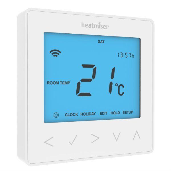 Termostat pokojowy programowalny z możliwością sterowania przez Wi-Fi neoStat-e /W