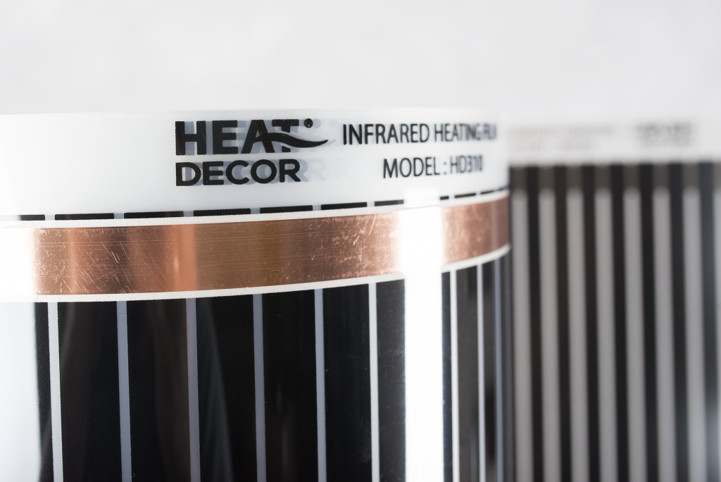 Folia grzewcza Heat Decor HD305 szer. 50cm ZESTAWY 140W/m² - z termostatem pokojowym HD-T02