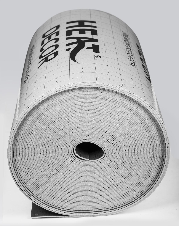 Mata izolacyjna Heat Decor do ogrzewania podłogowego gr. 5mm, szer. 100 cm