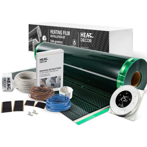 Folia grzewcza Heat Decor HD310G szer. 100cm ZESTAWY 140W/m² - z termostatem BHT6000