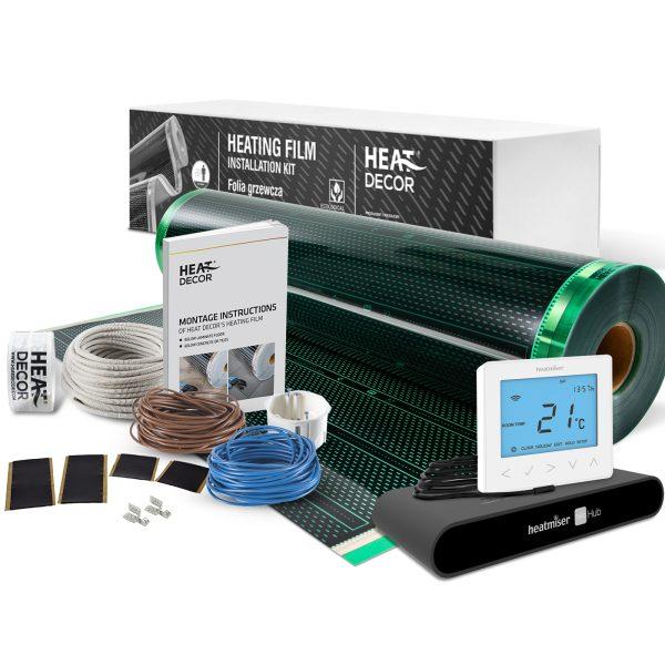 Folia grzewcza Heat Decor HD310G szer. 100cm ZESTAWY WiFi 140W/m² - z termostatem neoStat-e i centralą sterującą neoHub
