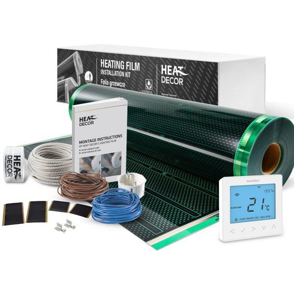 Folia grzewcza Heat Decor HD310G szer. 100cm ZESTAWY 140W/m² - z termostatem neoStat-e