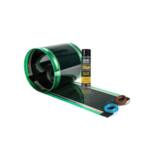 Zestaw folii grzewczej HD3025G do ogrzewania lustra