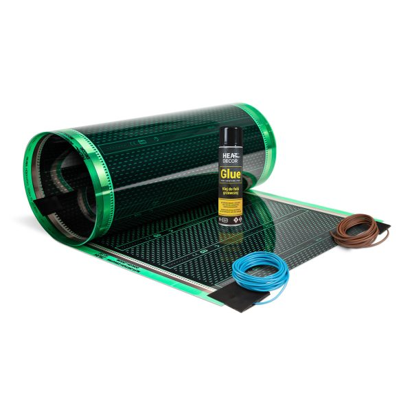 Zestaw folii grzewczej HD305G do ogrzewania lustra