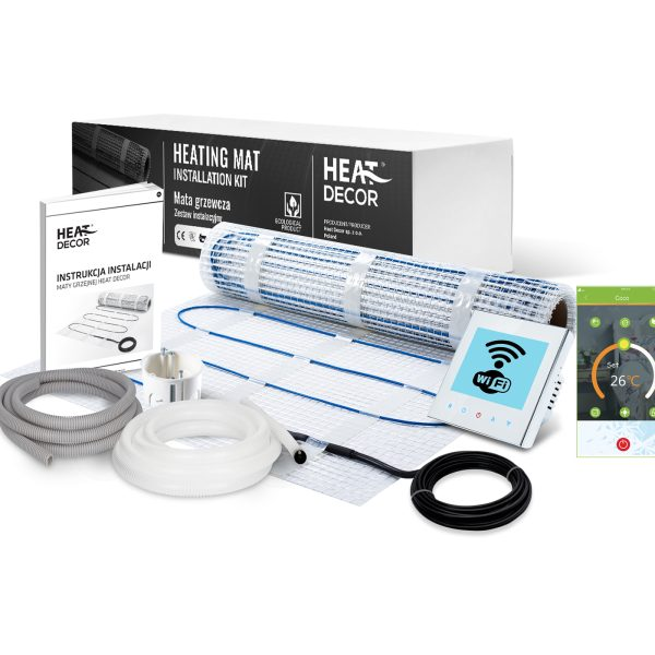 Zestaw mata grzewcza Heat Decor HD-mat150/2.0.W.WiFi - 2m²