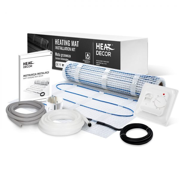 Zestaw mata grzewcza Heat Decor HD-mat150/2.0.T1 - 2m²