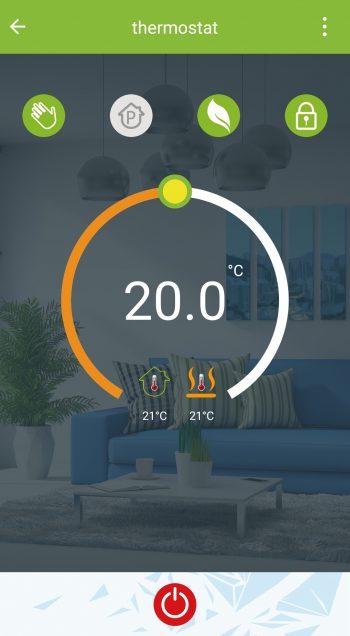 My smart Thermostat app Heat Decor