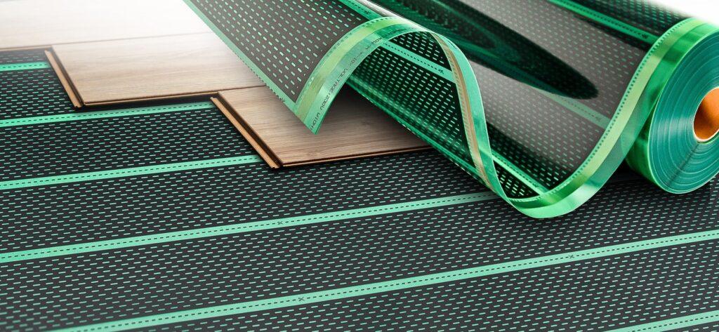 Ogrzewanie podczerwienią - folia grzewcza pod panelami