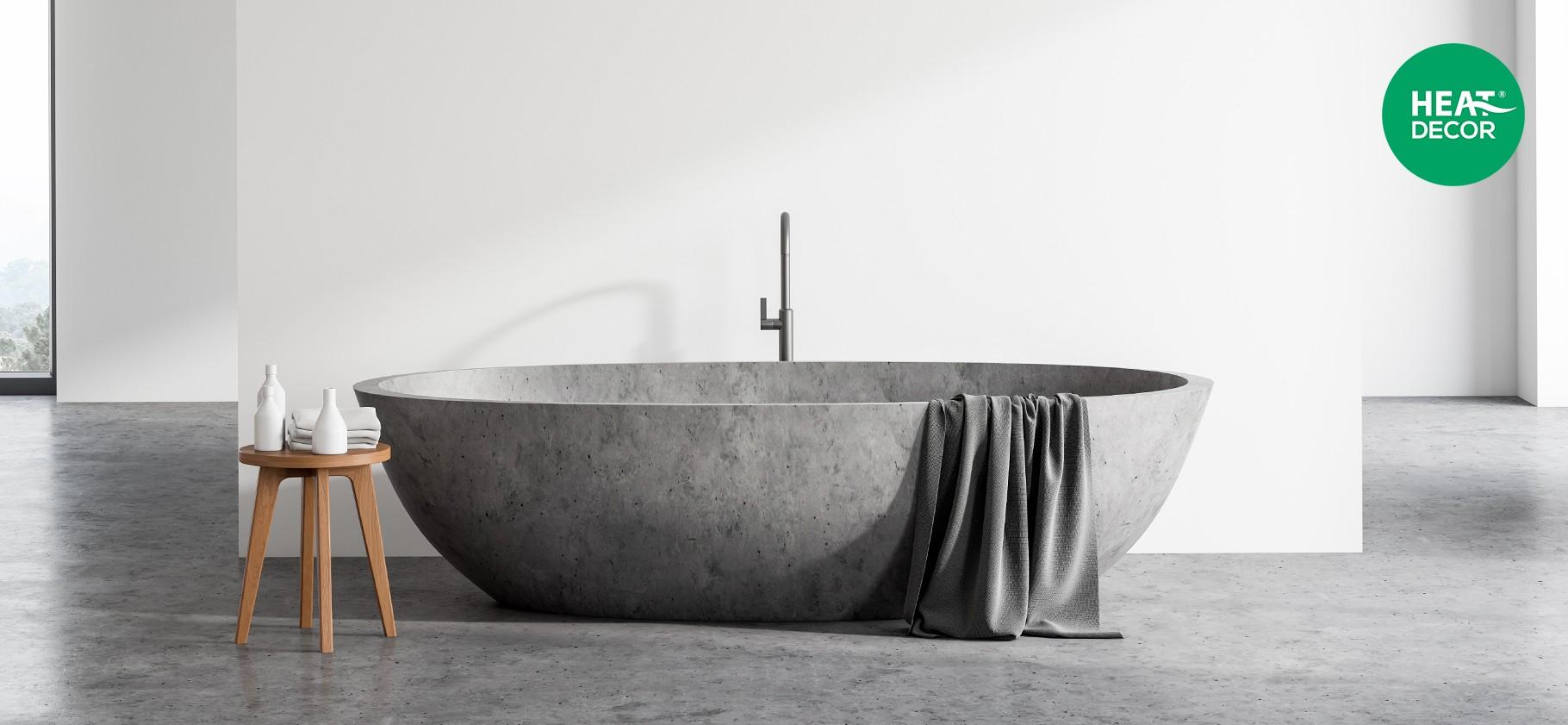 Elektryczna mata grzewcza w łazience ciepła podłoga