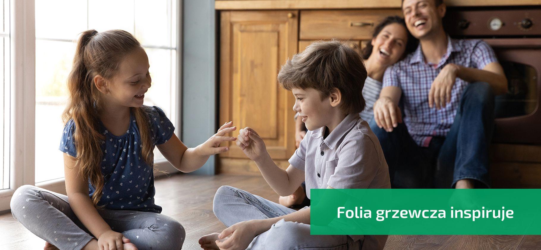 Ciepła podłogi dzieci ogrzewanie podłogowe