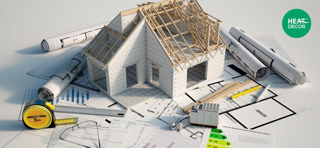 Fotowoltaika i folia grzewcza -Jak ogrzać ekologiczny dom - budowa nowego energooszczędnego domu