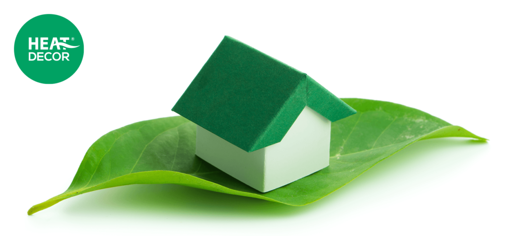 Dekoarbonizacja budownictwa zeroemisyjne ogrzewanie zielony ekologiczny dom
