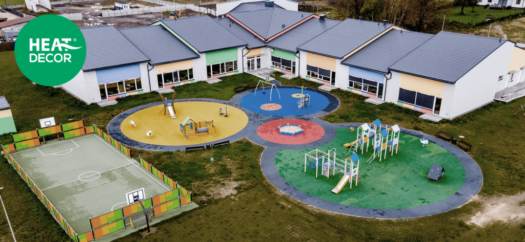 Ogrzewanie w przedszkolu - podczerwienią, podłogowe, nowoczesne, bezserwisowe